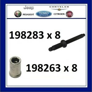 New Ford Fiesta Focus C-Max Fusion 1.6 TDCI Injector Studs & Nuts 198283/198263
