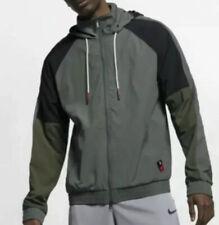 Nike KYRIE Jacket Full Zip Hooded Windbreaker Basketball Athletic Men 2XL NWT