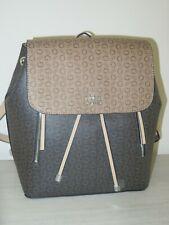 Guess RHETT Backpack Signature G Logo NATURAL MULTI Shoulder Bag Purse FF665130