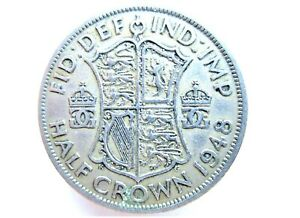1947 - 1951 GEORGE VI  HALFCROWN CHOOSE YOUR DATE  FOR YOUR COIN FREE UK POSTAGE