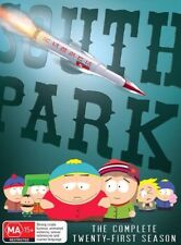 South Park : Season 21 (DVD, 2018, 2-Disc Set)