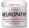 Neuropathy Pain Relief Cream - Clinical Strength Nerve Support For Leg Hand Toe