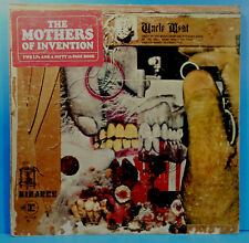 MOTHERS OF INVENTION UNCLE MEAT 1969 ORIGINAL BIZARRE NICE CONDITION! VG/G+!!