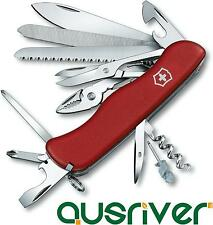 Victorinox Swiss Army Knife 20-in-1 WorkChamp 0.9064 111mm Cut Drill Saw Screw