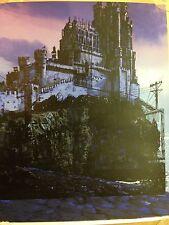 UnReal Estate 3- The Red Keep Print Nakatomi Rare Test Print Tim Doyle! 16x20