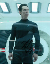 "BENEDICT CUMBERBATCH SIGNED STAR TREK INTO DARKNESS 8""x10"" PHOTO W/ COA SHERLOCK"