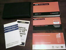 2005 Dodge Stratus Coupe Owners Manual