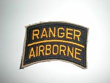 US ARMY RANGER AIRBORNE TAB PATCH - REPRODUCTION