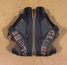 Globe Tilt Black Brown TPR Men's Size 7 US DVS BMX DC Skate Shoes Sneakers