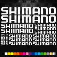 Shimano 16 Stickers Autocollants Adhésifs - Vtt Velo Mountain Bike Dh Freeride