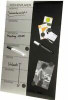 GENIE Wochenplaner Magnettafel Terminplaner Whiteboard Wandtafel Pinnwand Magnet
