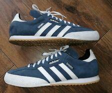 Mens Adidas Super Samba Trainers Originals Leather Casual in Size UK 12