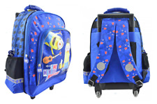 Despicable Me Minions TROLLEY School Bag Backpack on wheels wheeled bag licensed