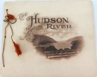 .SUPERB. EARLY 1900s THE HUDSON RIVER DAY LINE SCENIC LARGE SOUVENIR BOOKLET.