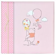 "Pink Winnie The Pooh Photo Album 200 Photographs 6"" x 4"" Picture Book Baby Girl"