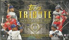 2014 Topps Tribute Baseball Factory Sealed Hobby Box - 4 Autos + 2 Relics Per Bx