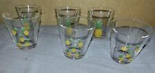 6 tlg. Gläser-Set Ananas