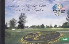IRELAND PREMIUM BOOKLET : 2005 Ryder Cup Golf complete SG SP4 MNH