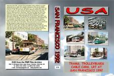 3778. USA. Trams, Trolleys,Buses. It's San Francisco everybody's favourite US tr