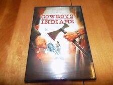 COWBOYS AND INDIANS ALVIN COWAN KATY MALONEY Western Adventure DVD SEALED NEW