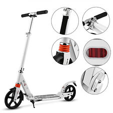 City Scooter Tretroller Kickscooter Klappbar und Höhenverstellbar für Erwachsene