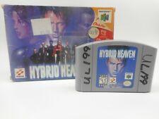 Hybrid Heaven N64 Nintendo 64 Game Cartridge and Box