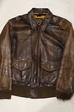 US Army Air Force USAAF A-2 Leather Bomber Flight Jacket Avirex