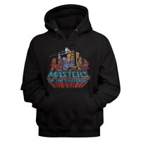 Masters Of The Universe Full Group Color Photo Adult Pullover Hoodie