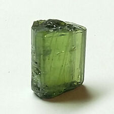 6.9ct Green Tourmaline Rough