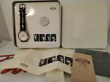 The Beatles 925 Sterling Silver Fossil Watch Apple Pin Badge Ltd Ed #126 / 500