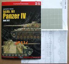 Sd.Kfz. 161 Panzer IV Ausf. H/J TopDrawings, KAGERO + Mask Foil