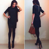 New Women Slim Sexy Cocktail Party Dresses Business Bodycon Pencil Dress Hoc