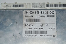 MERCEDES CLASSE A140 A170 esp+hba ECU 0295458332 [ cy440 ]