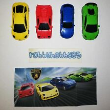 LAMBORGHINI COMPLETE SET WITH ALL PAPERS KINDER SURPRISE 2019/2020
