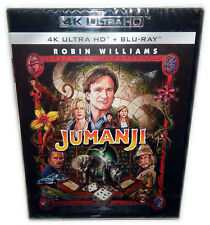 Jumanji [4K UHD + Blu-Ray] Robin Williams, 4K Ultra HD, Deutsch(er) Ton
