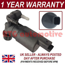 WINDSCREEN WASHER FLUID PUMP FITS NISSAN QASHQAI 2007- FRONT & REAR TWIN OUTLET