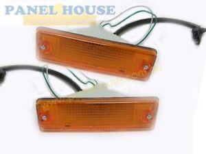 Bar Blinker Indicator Lights PAIR fits Ford Courier PC Ute 85-96