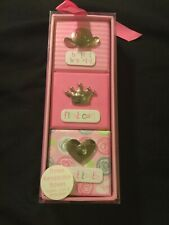 Brand New! Pink Keepsake Boxes - For Hospital Bracelet, First Curl, First Tooth