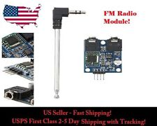 TEA5767 Module Board FM 76-108MHZ Stereo Radio for Arduino with Tie-rod Antenna