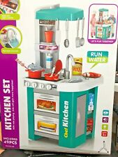 Talented chef Children Kids Play Kitchen Pretend Cooking Toys Cooker Play new