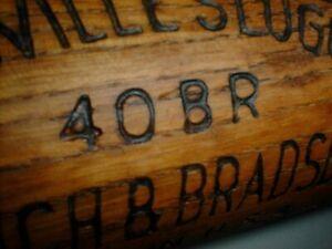 Old 1920s BABE RUTH R2 Bat RARE 41oz Louisville Slugger 40BR Early Period YANKEE