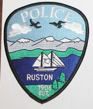 RUSTON POLICE Washington WA PD patch