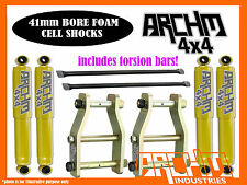 TOYOTA HILUX 1988-2005 (IFS/LEAF) ARCHM4X4 2INCH-50mm F&R SUSPENSION LIFT KIT