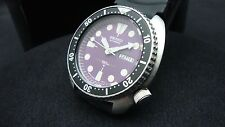 Vintage Seiko divers 6309-7040 TURTLE PURPLE DIAL JULY 1981 K55