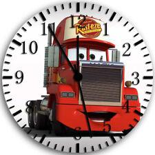 Disney Cars Mack Frameless Borderless Wall Clock Nice For Gifts or Decor W74