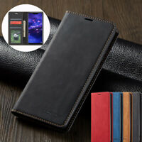 Leather Magnetic Flip Wallet Case Cover For Huawei P20 P30 Pro Lite P Smart 2019