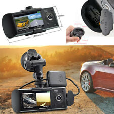 "Car Suv Dual Lens Camera 2.7"" HD 1080P DVR Video Recorder Dash Cam GPS G-Sensor"