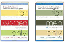 For Men Only & For Women Only by by Shaunti & Jeff Feldhahn (2 Hardcover Set)NEW