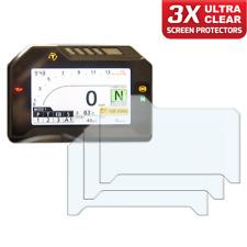 3 x HONDA FIREBLADE CBR1000R instrumento/dashboard/Speedo UC protector de pantalla