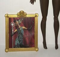 Barbie Harlem Theatre Selma Dupar James Doll Claudette Gordon Faux Painting NEW